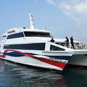 蘇梅島邦拉碼頭-帕岸島往返船票(電子票)-Lomprayah