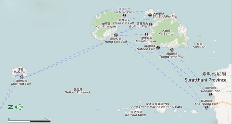 素叻他尼到濤島船票(電子票),素叻他尼到濤島,素叻他尼濤島,素叻他尼船票
