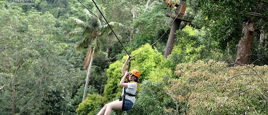 布吉島叢林飛躍Flying Hanuman,布吉島哈努曼飛行,布吉島叢林飛行