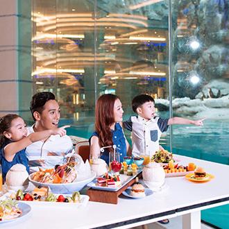 珠海長隆企鵝酒店自助餐