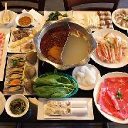 三亞開維萬達文華酒店小船海鮮火鍋自助午餐