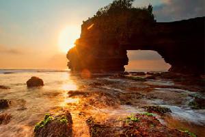巴厘島火山溫泉+海神廟一日遊