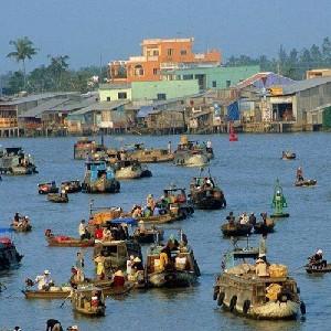 (特價)越南湄公河三角洲+水上市場2天1夜游
