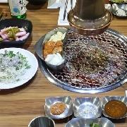 首爾Gogigo Shop烤肉什錦拼盤(江南店)