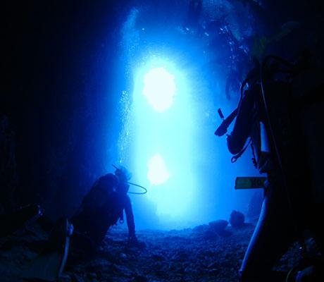 冲绳青之洞窟体验潜水之旅(私人教練全程指導)