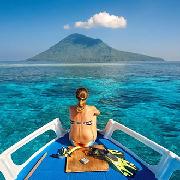 布吉島蜜月島+香蕉灣雙體帆船火烈鳥號一日遊(尋找海豚之旅)