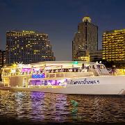 曼谷昭披耶公主號夜遊湄南河+自助晚餐(Asiatique河畔夜市登船)