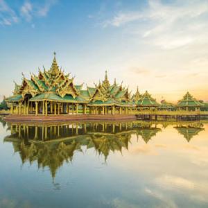 泰國北欖七十二府古城門票