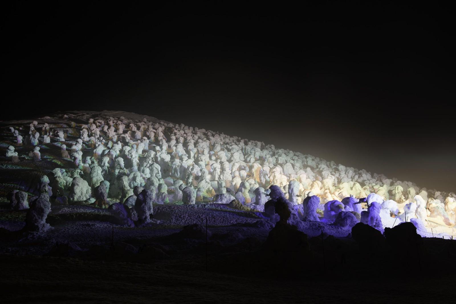 山形藏王樹冰點燈時間2020