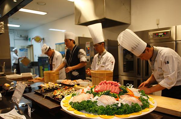 韓國洪川大明滑雪場餐廳|洪川大明滑雪度假村餐廳|維瓦爾第公園餐廳