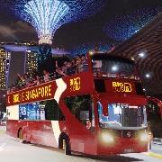 新加坡Big Bus雙層巴士夜遊車票