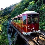 香港太平山頂單程纜車+凌霄閣摩天台428套票(QR code入閘)