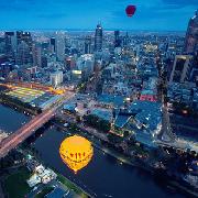 墨爾本市區60分鐘熱氣球體驗