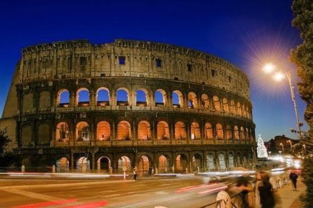 北京轉機到羅馬